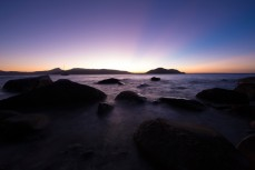 Dusk at Fitzroy Island, Tropical North Queensland, Queensland, Australia.